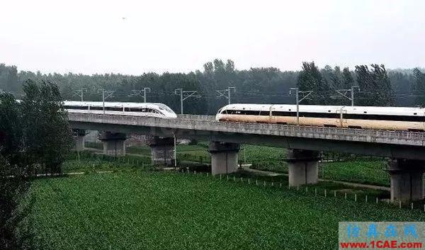 高铁为什么长这样?不是跑得快,而是飞得低【转发】fluent分析案例图片2