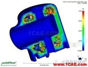 注塑工艺之模具温度优化moldflow仿真分析图片9