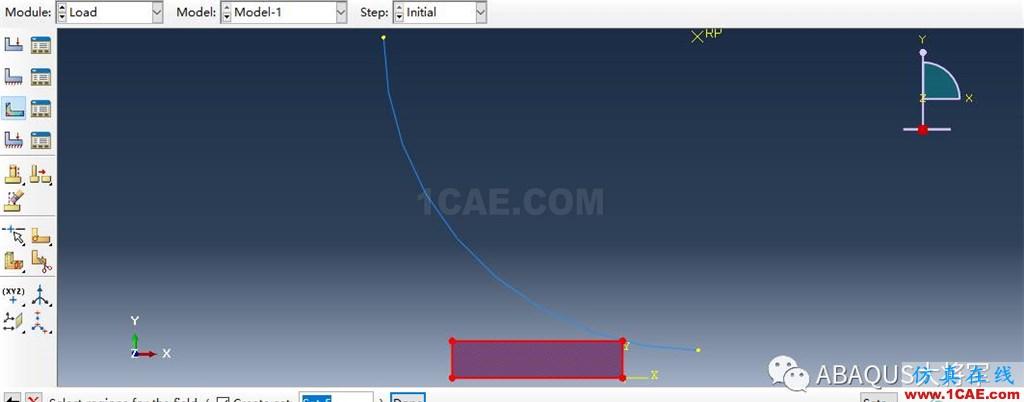 ABAQUS案例的Abaqus/CAE再现—厚板辊压abaqus静态分析图片48