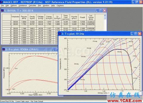基于NIST真实气体数据库导入CFX的接口开发cfx分析图片4