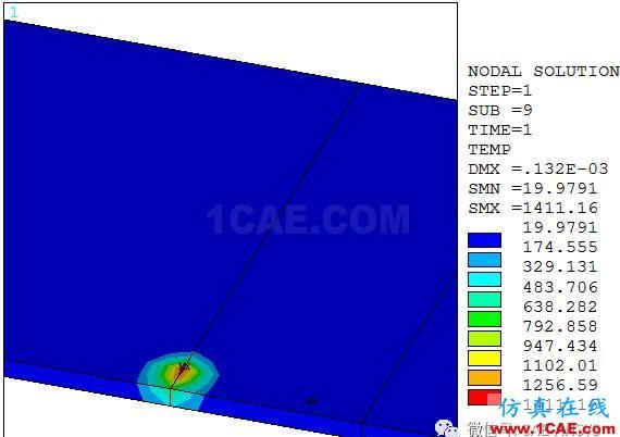 ANSYS薄板多道焊接残余应力有限元分析ansys workbanch图片3