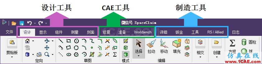 ANSYS 19.0 | SpaceClaim新功能亮点ansys培训的效果图片2