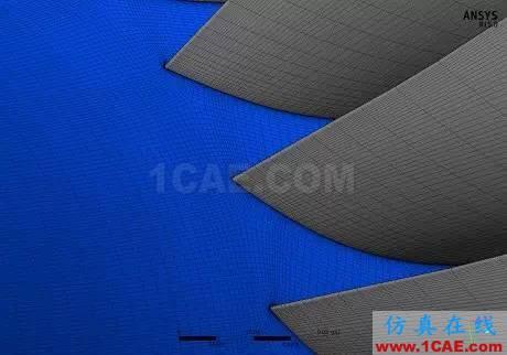 技术分享 | 可靠的涡轮机叶片设计与空气动力学仿真cfx结果图片1