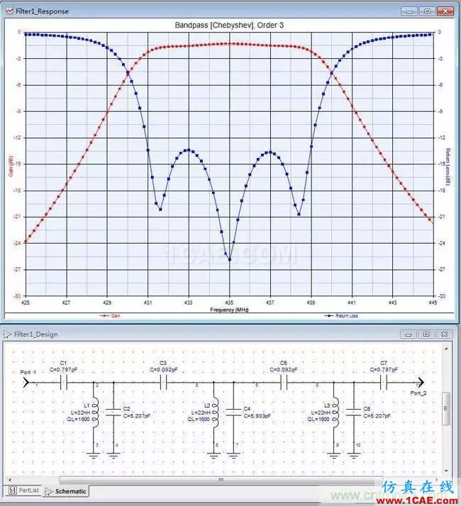 射频牛人教你前端滤波器的制作【附电路图】ADS电磁培训教程图片3