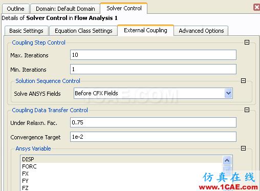 CFX流固耦合FSI分析cfx培训的效果图片30