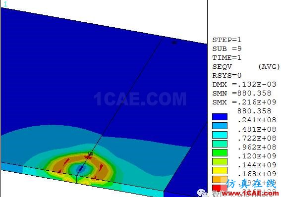ANSYS薄板多道焊接残余应力有限元分析ansys培训的效果图片7