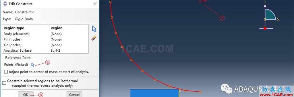 ABAQUS案例的Abaqus/CAE再现—厚板辊压abaqus有限元图片30