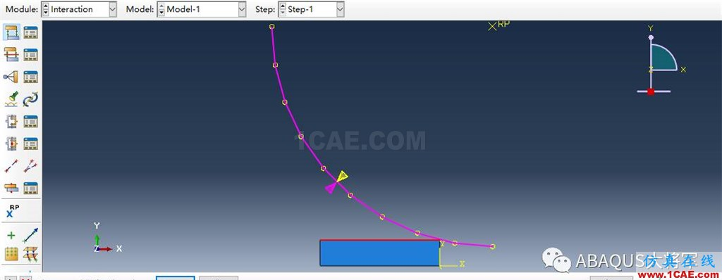 ABAQUS案例的Abaqus/CAE再现—厚板辊压abaqus有限元分析案例图片39