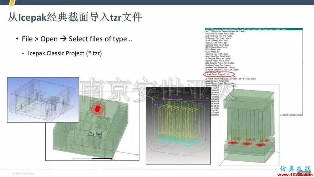 最新版本ANSYS Icepak 2019R1新功能介绍(一)icepak技术图片5