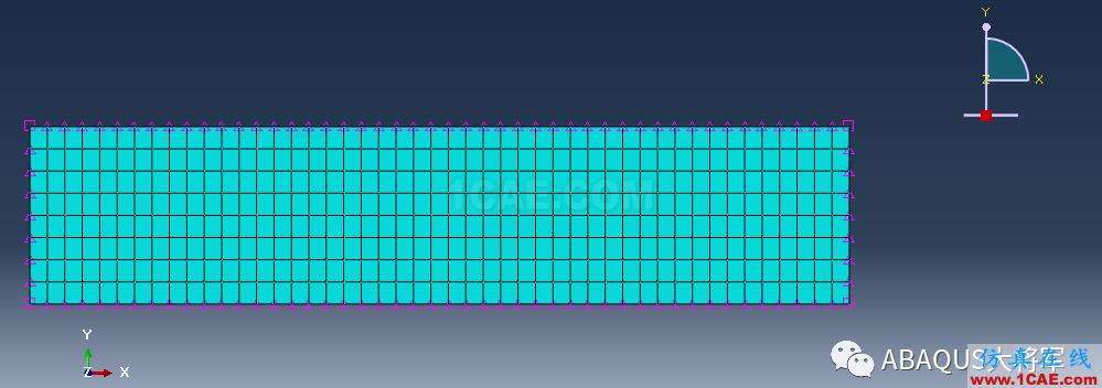 ABAQUS案例的Abaqus/CAE再现—厚板辊压abaqus有限元资料图片53