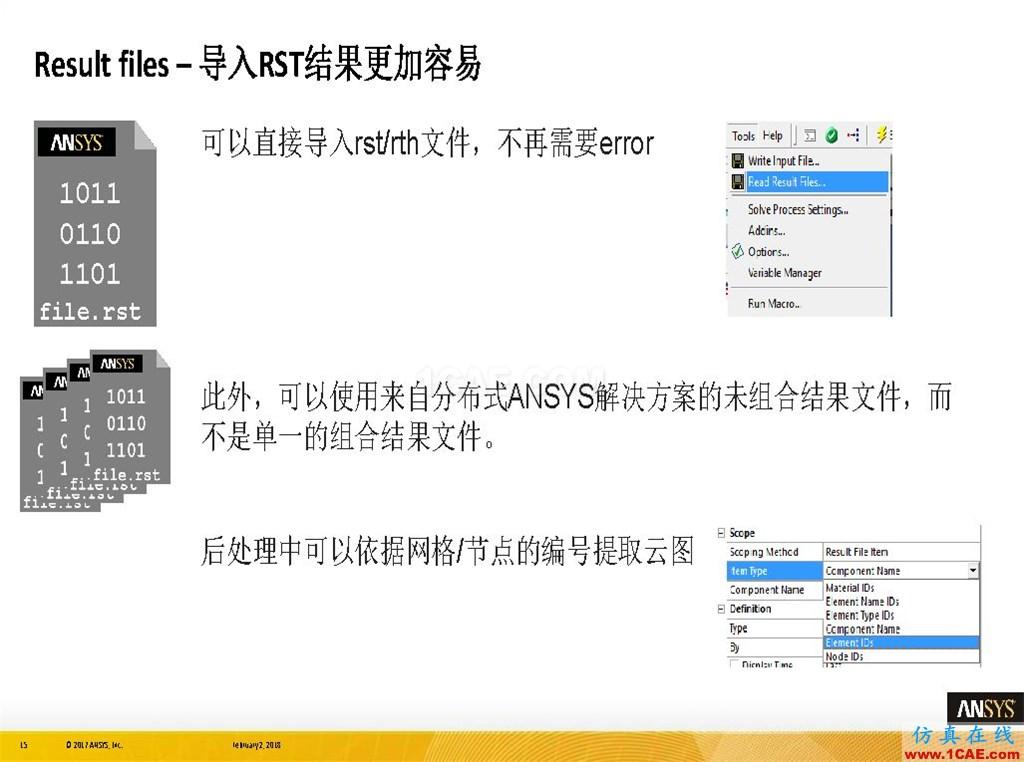 ANSYS19.0新功能 | 结构功能详解ansys培训课程图片15