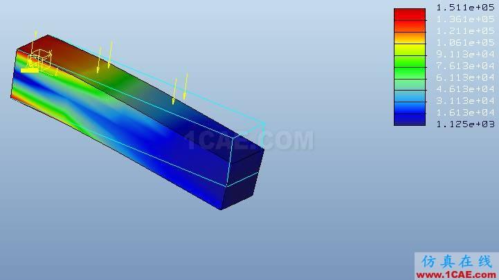 Proe Mechanica有限元分析入门pro/e模型图片25