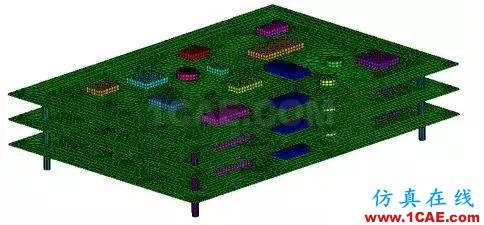 基于模态叠加法的印制电路板组件动力学分析ansys结构分析图片1