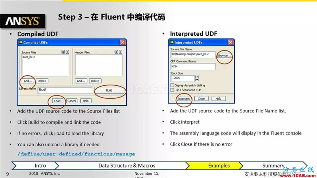 ANSYS Fluent UDF 功能概述fluent流体分析图片9