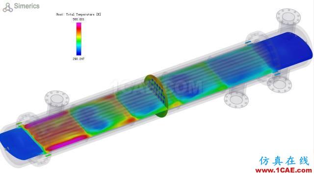 推荐CFD软件Simerics——高效模拟复杂结构的换热器cfx培训的效果图片8