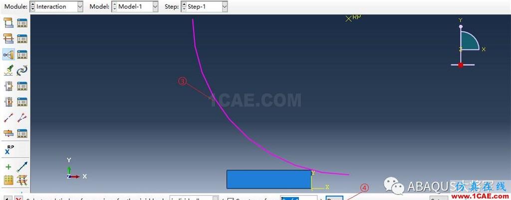 ABAQUS案例的Abaqus/CAE再现—厚板辊压abaqus有限元仿真图片28