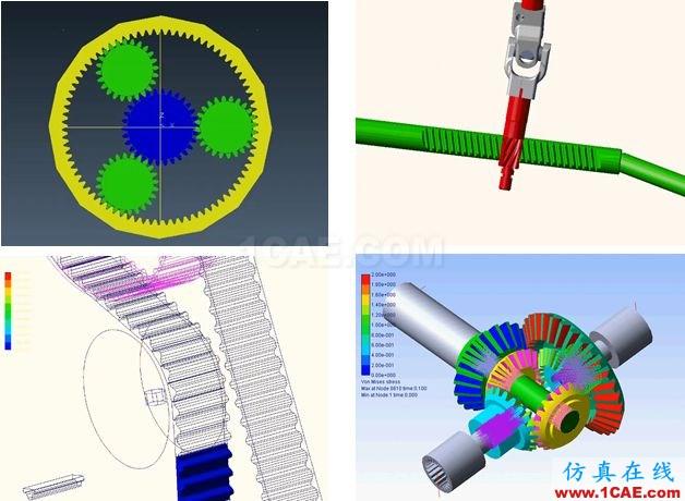 行业应用 | 机器人及数控机床研发中的仿真技术应用ansys结构分析图片12