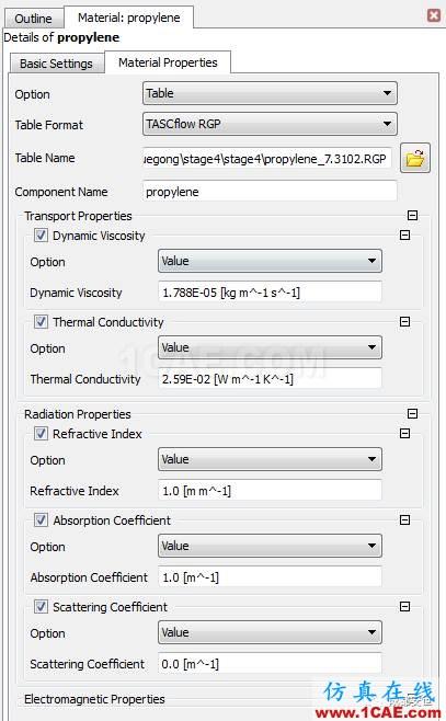 基于NIST真实气体数据库导入CFX的接口开发cfx分析图片6