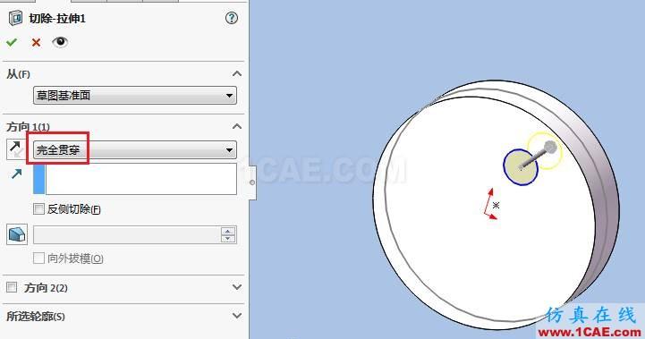 solidworks如何使用布局草图创建皮带仿真?solidworks simulation分析图片7