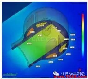 注塑工艺之模具温度优化moldflow注塑分析图片6