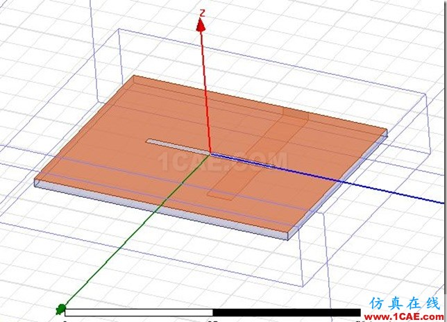 Microstrip Feed Planar Slot Antenna by ADK_5.8GHz