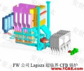 技术分享 | CAE仿真技术在流化床锅炉设计中的应用简介fluent分析图片1