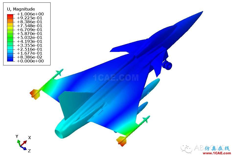 hypermesh 歼十航模有限元分析[转载分享]hypermesh技术图片7
