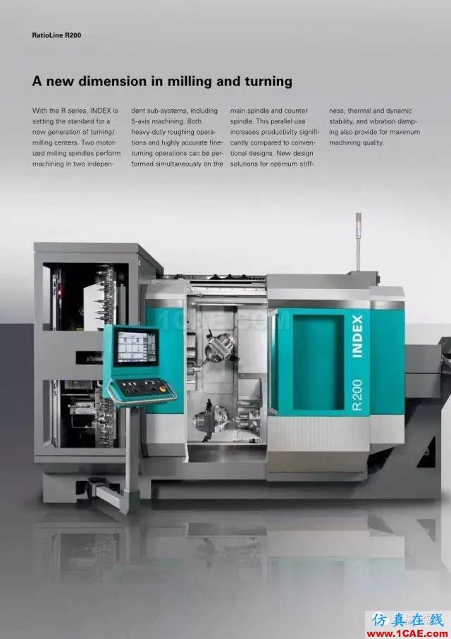 【收藏】德国INDEX R200 加工中心,酷的要死的节奏!【转发】机械设计图片2