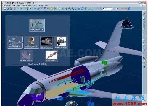 catia 飞机结构设计