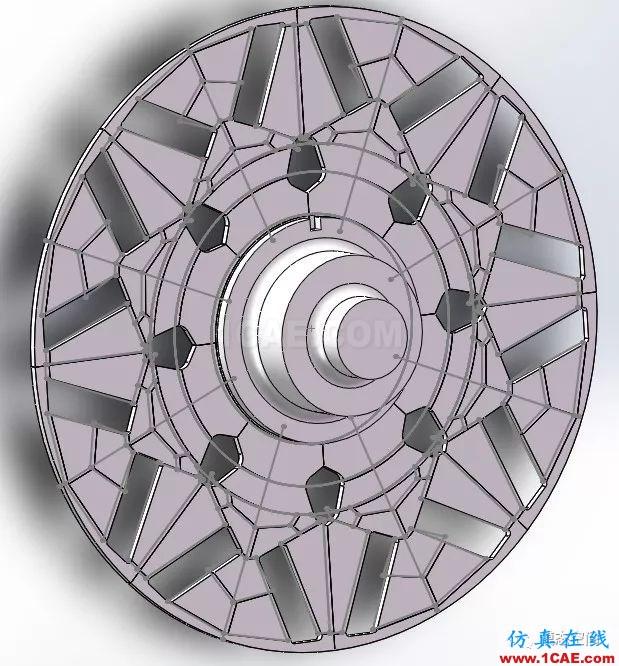 实例操作|新能源汽车用永磁电机转子的全砖形单元划分方法Maxwell培训教程图片35