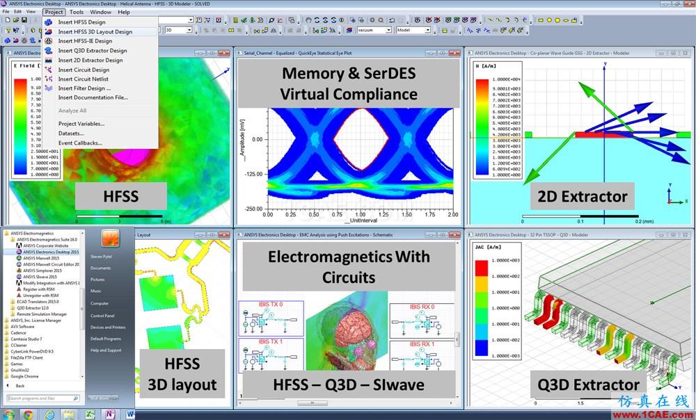 最新ANSYS Electromagnetics Suite (AnsysEM)培训-电磁套件培训ansys培训课程图片10
