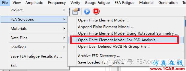 FE-SAFE中PSD振动疲劳介绍fe-Safe学习资料图片1