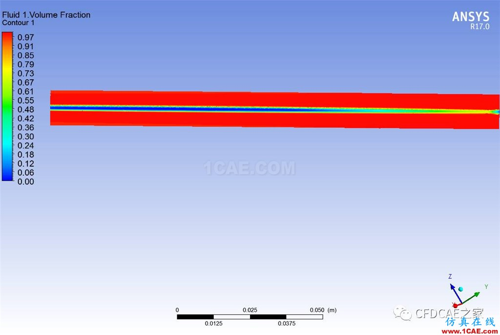 [学术信息]基于CFX的两相流混合器流场计算cfx图片8