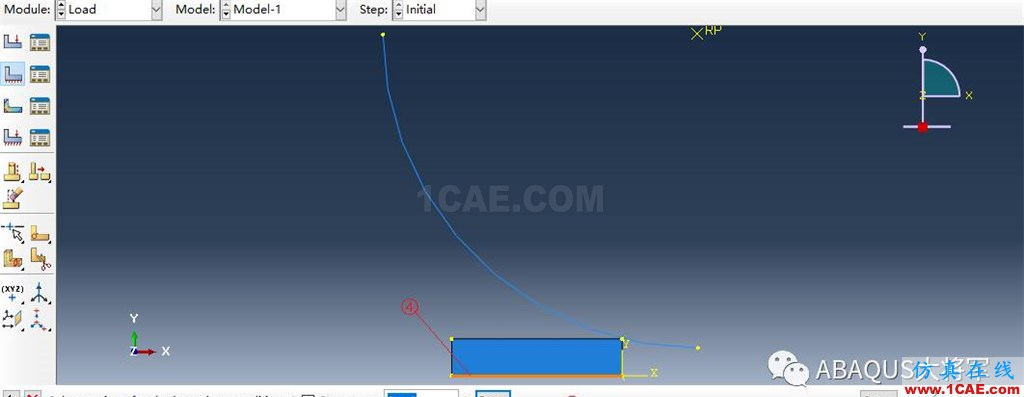 ABAQUS案例的Abaqus/CAE再现—厚板辊压abaqus有限元培训教程图片43