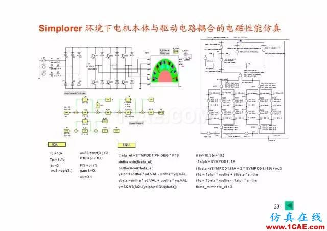 【PPT分享】新能源汽车永磁电机是怎样设计的?Maxwell学习资料图片22