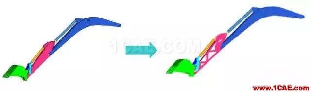 案例-基于HyperWorks的舱门机构多体动力学分析和优化-复合材料hypermesh应用技术图片21
