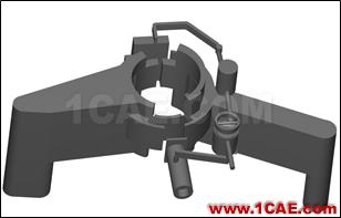 直线式可变排量滑片泵(VDVP)流体分析Pumplinx旋转机构有限元分析图片3