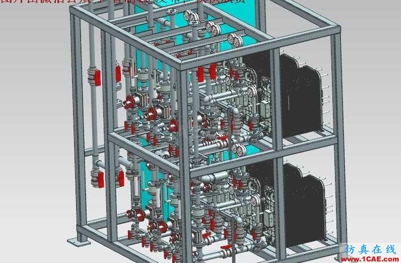 【工程机械】EDI超纯水系统处理设备3D模型 UG(NX)设计下载ug培训资料图片1