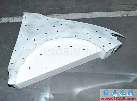 基于Autoform的汽车翼子板回弹补偿方法研究autoform汽车仿真图片4