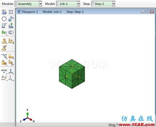 偶然发现ABAQUS一个强大的网格划分功能 - Yusd - 玉石殿