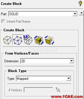 ICEM CFD构建2D块icem网格划分应用技术图片1