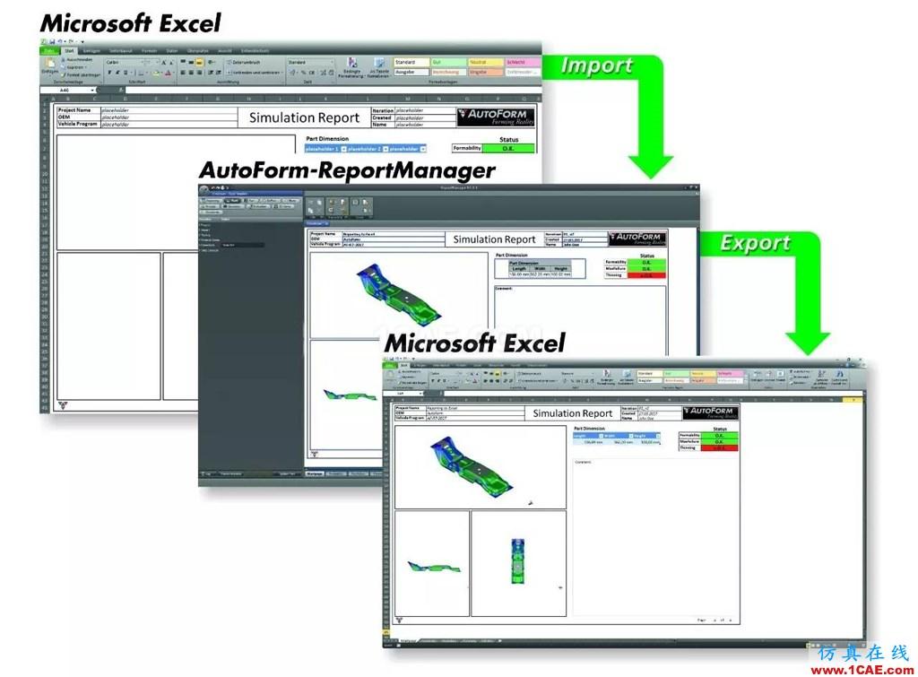 AutoFormplus R7 一Excel格式报告autoform培训课程图片1