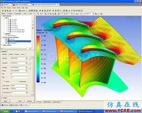 技术分享 | 旋转机械仿真应用概述ansys结构分析图片11