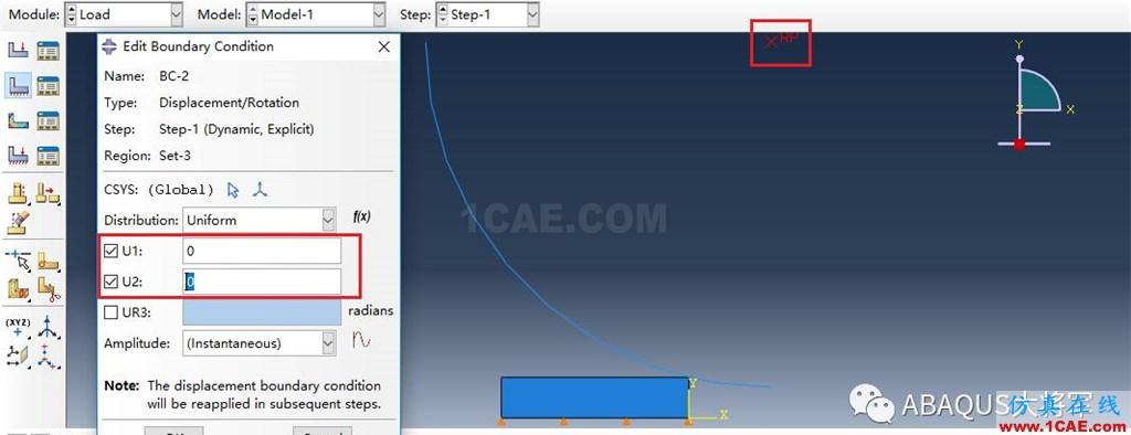 ABAQUS案例的Abaqus/CAE再现—厚板辊压abaqus有限元培训教程图片45