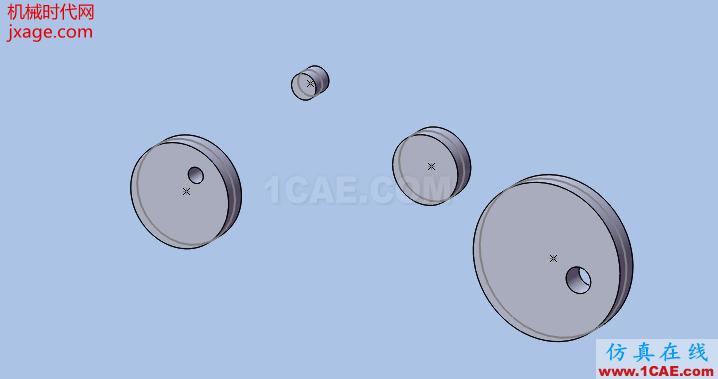 solidworks如何使用布局草图创建皮带仿真?solidworks simulation应用技术图片8