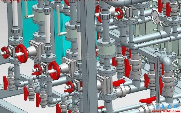 【工程机械】EDI超纯水系统处理设备3D模型 UG(NX)设计下载ug模具设计技术图片3