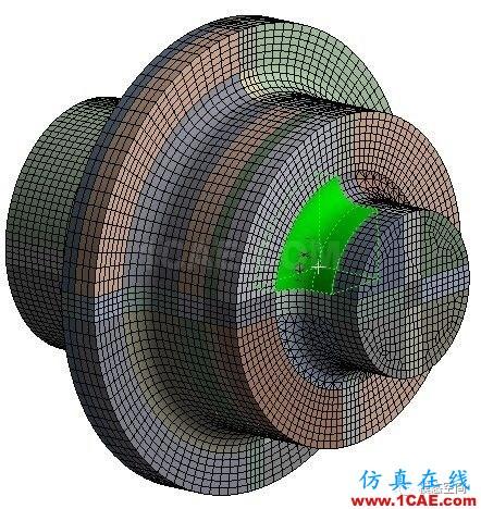 实例操作|新能源汽车用永磁电机转子的全砖形单元划分方法Maxwell培训教程图片46