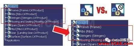 【技巧篇】关于CATIA大型装配轻量化技巧Catia分析案例图片12